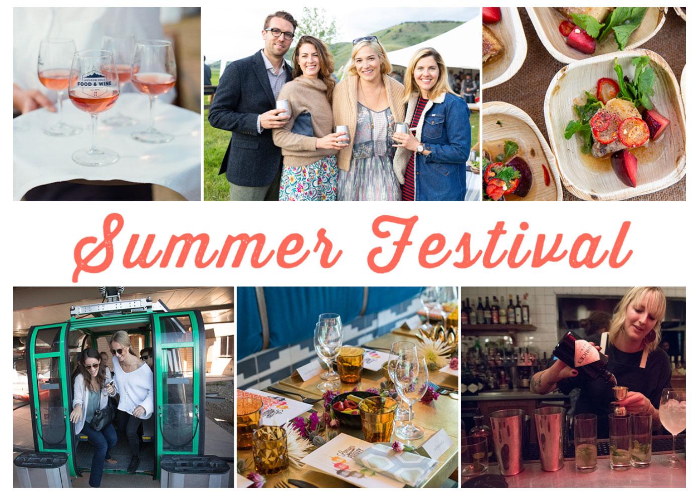 Summer Food & Wine Festival