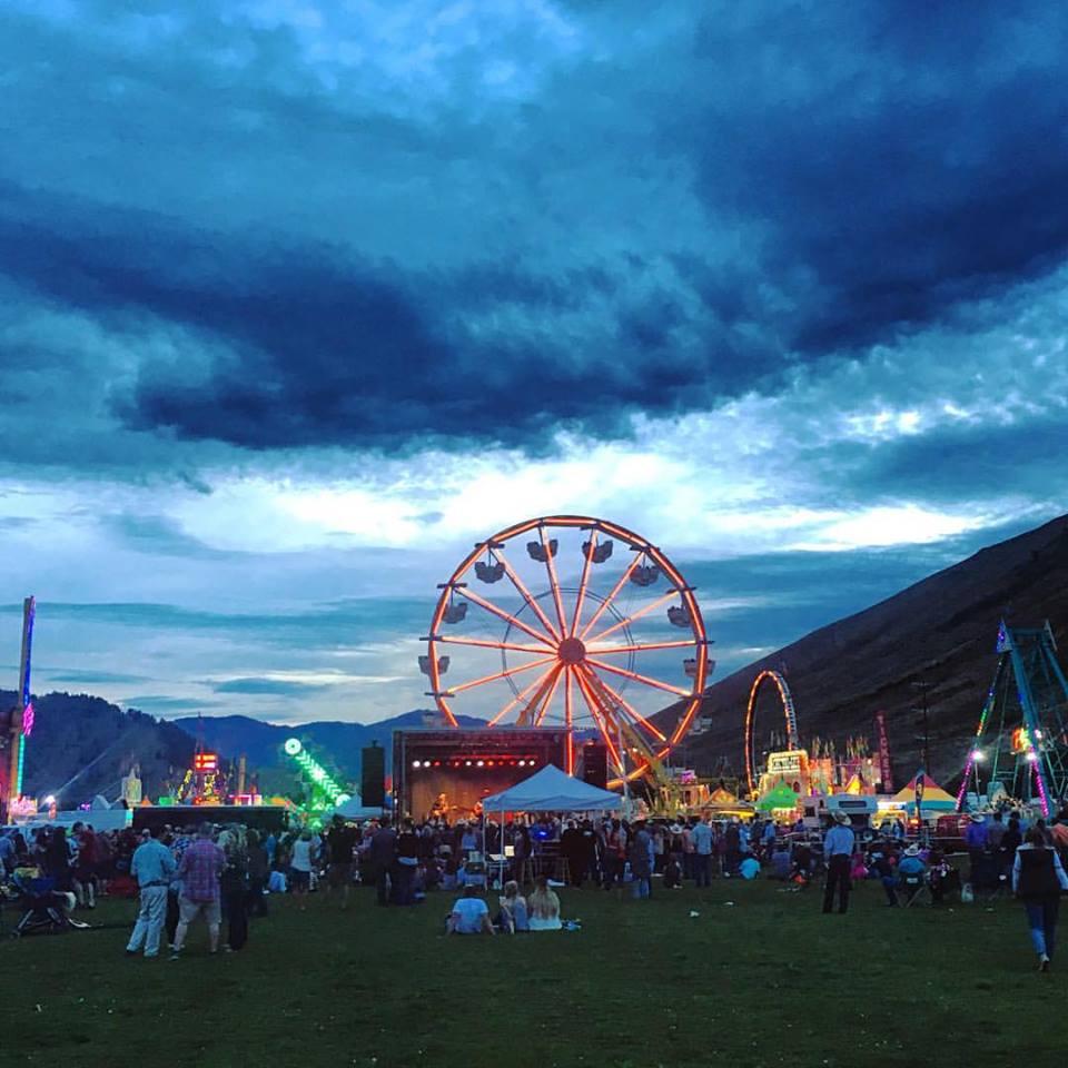 teton county fair ferris wheel