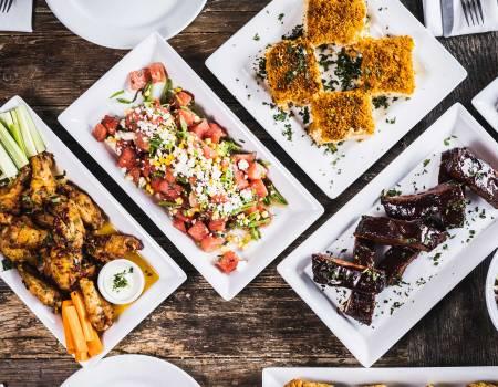 Fine Dining Restaurant Group Food Drop & Dinner Party Menus - BBQ