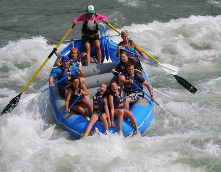 whitewater rafting snake river wyoming