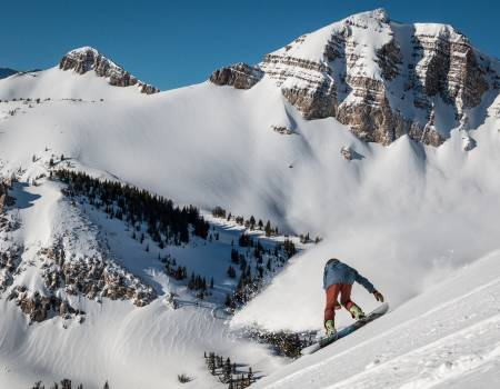 snowboard jackson hole