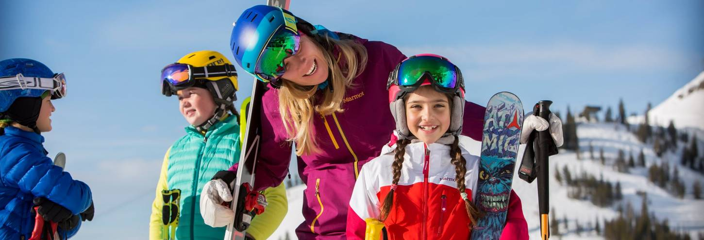 Jackson Hole Mountain Resort Family Ski