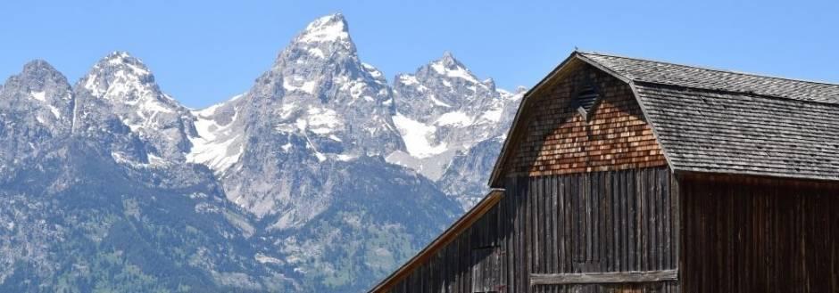 Grand Tetons & Mormon Barn