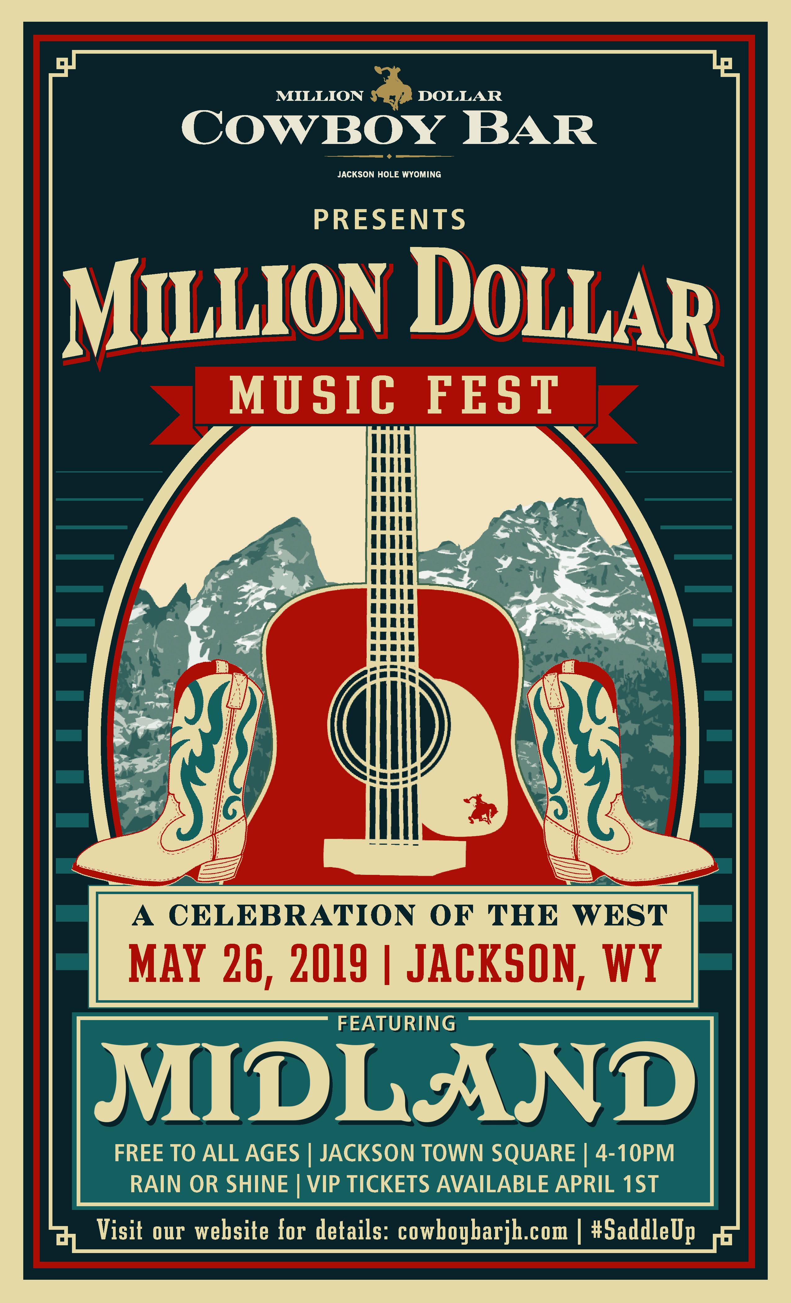 Million Dollar Music Fest Poster