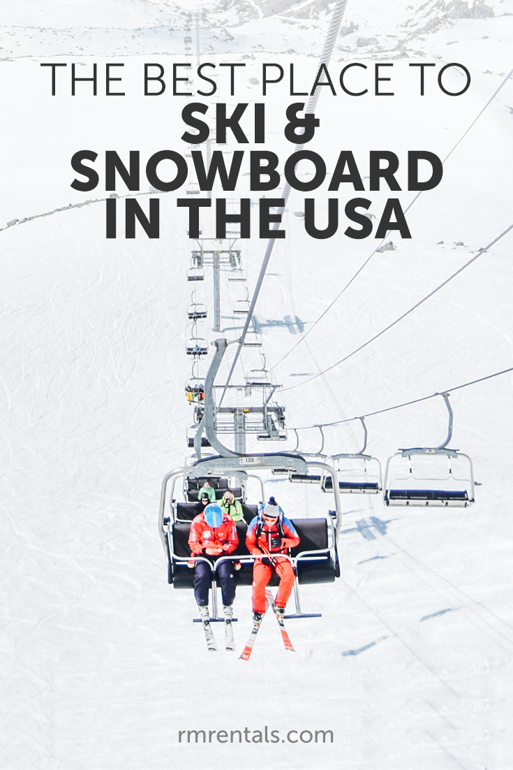 Best places to ski and snowboard in USA