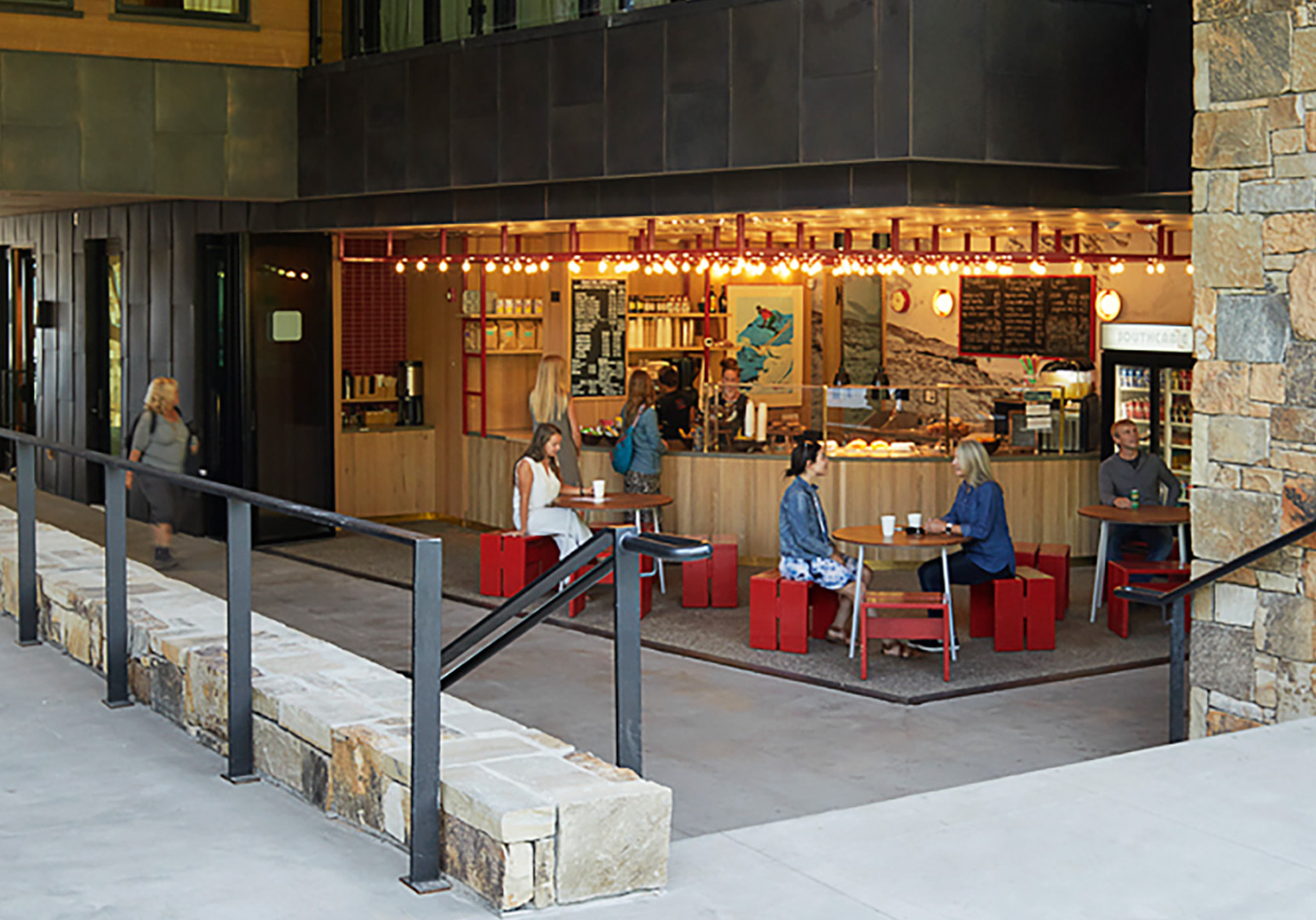 Southcable Cafe Teton Village