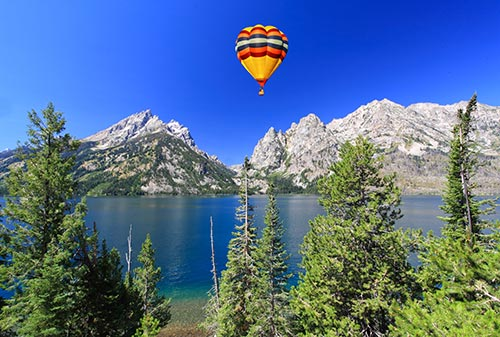 jackson hole hot air balloon