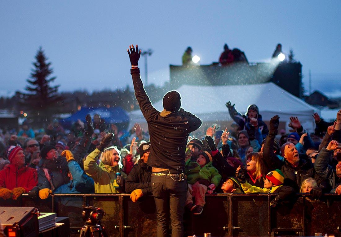 outdoor concert teton village