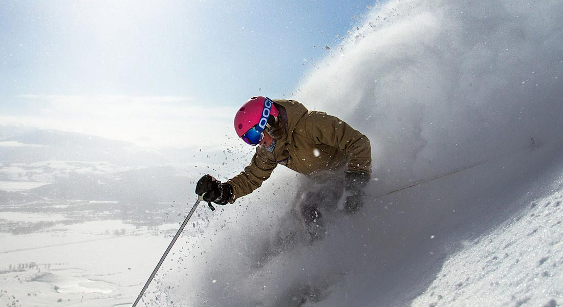 jackson hole mountain resort powder skiing