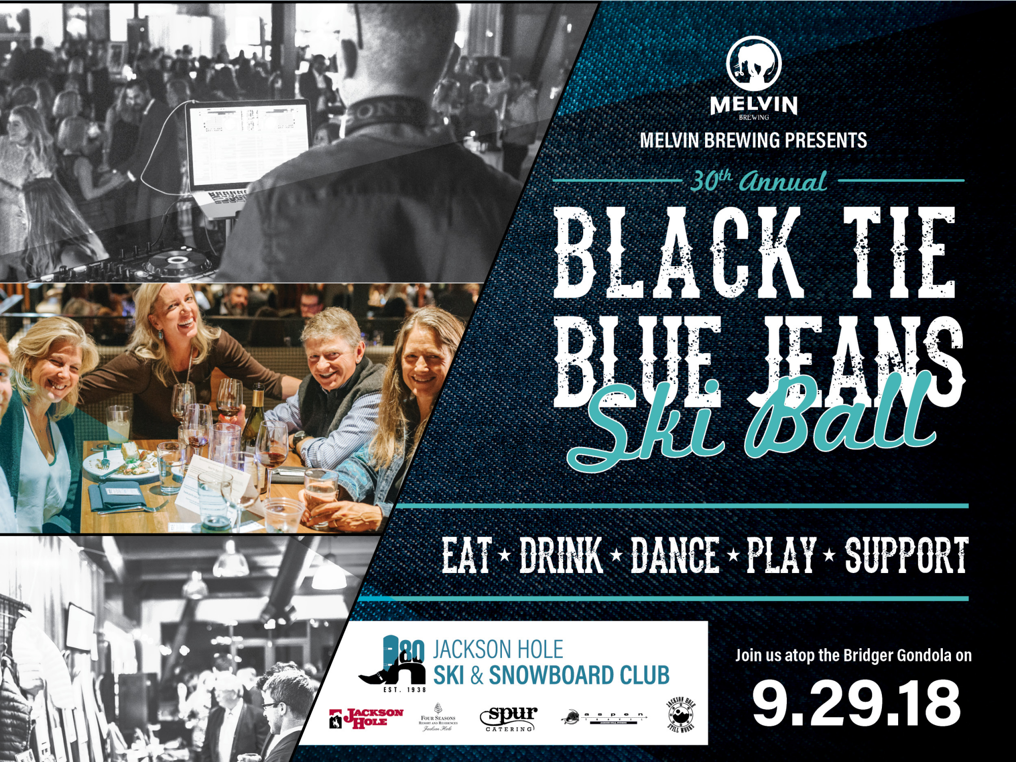 JHSC Black Tie, Blue Jeans Ball