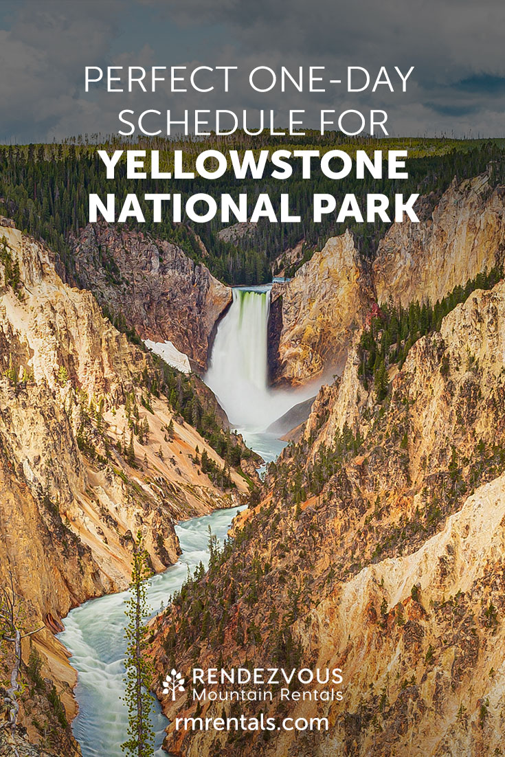 Perfect One Day Trip to Yellowstone