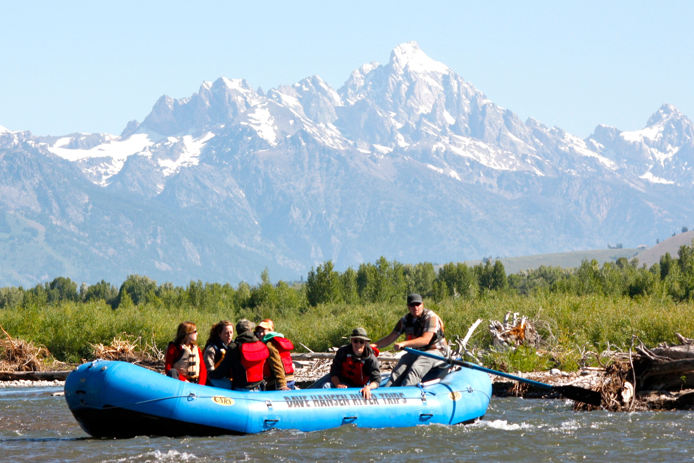 Take a scenic float trip through Grand Teton National Park