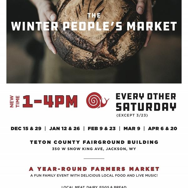 Teton Slow Food Winter People's Market